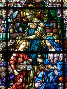 He was Obedient to them. . . .( Holy Hill Basilica)  © SalveMaterDei.com, 2011. EA photographer