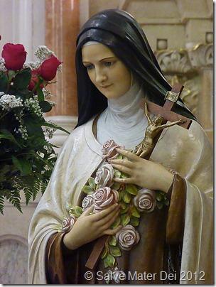 St Therese Of The Child Jesus Salve Sancta Mater Dei