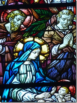 Head of the Holy Family, Pray for Us! © SalveMaterDei.com, 2013.