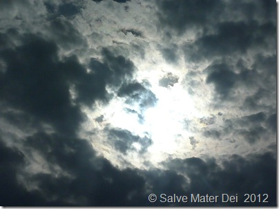 The Son of Man Will Come with Great Poer and Glory. . . © SalveMaterDei.com, 2012, EA Photo