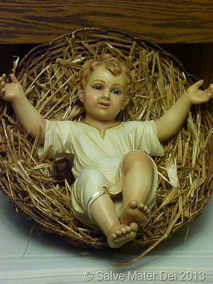 For Unto Us a Child is Born! © Salve Mater Dei 2013