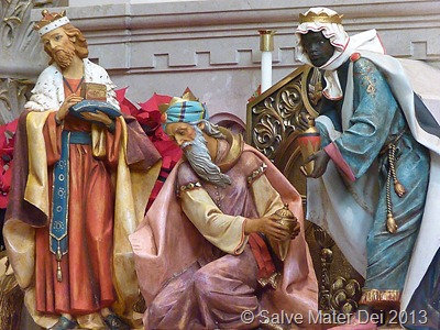 We have seen His Star in the East © Salve Mater Dei 2013.