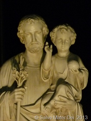 St. Joseph Holf My Hand and Guide My Steps Along this Lentern Journey © SalveMaterDei.com 2013 (EA photo)