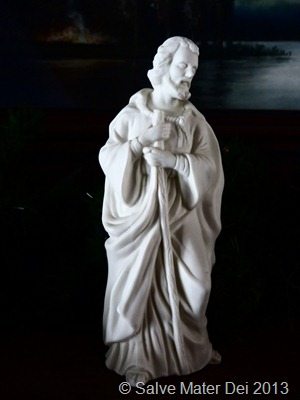 St. Joseph- The Strong, Silent, Righteous, Chaste, Protector of the Holy Family and the Universal Church © SalveMaterDei.com 2013