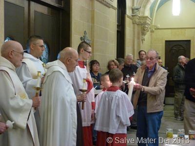 Candlemas Celebration, Holy Hill Basilica of the National Shrine of Mary Help of Christians, February 2, 2012 © SalveMaterDei.com, 2012.