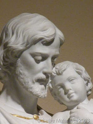 St. Joseph, Foster-father of Jesus, Pray for Us! © SalveMaterDei.com, 2013.