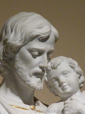 St. Joseph, Foster-father of Jesus, Pray for Us! © SalveMaterDei.com, 2013.
