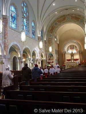 Candlemas celebration, February 2, 2013, Holy Hill, Basilica of the National Shrine of Mary Help of Christians © SalveMaterDei.com, 2011-2013.