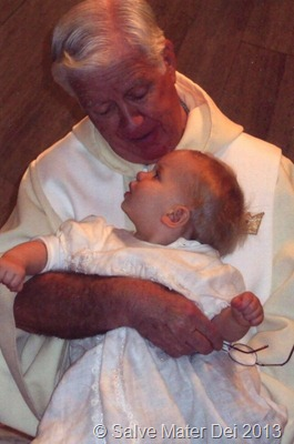 Without Priests, There Would Be No Mass, No Sacraments, No One to Baptise Our Children, To Hear Our Confessions. . . SalveMaterDei.com, 2013