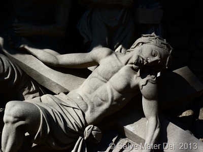 Your Life is to be Modeled on Mine, From the Crib to the Cross. . . . © SalveMaterDei.com, 2013