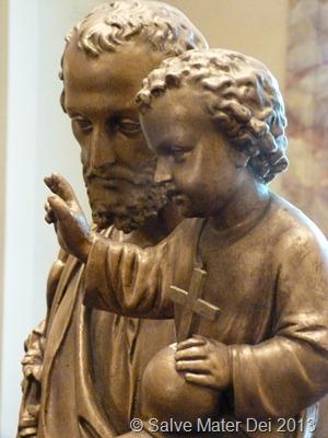 Bronze St. Joseph
