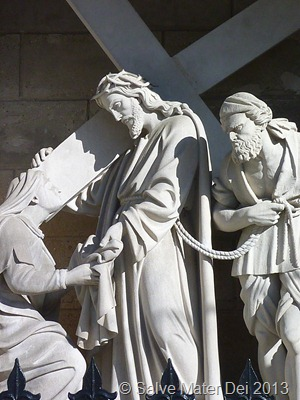 Blessed Are The Merciful, for Mercy Shall Be Theirs. © SalveMaterDei.com, 2013