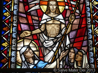 Our Task is to Embrace the Risen Lord. © SalveMaterDei.com, 2013.