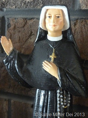 St. Maria Faustina, Please Pray for Us! © SalveMaterDei.com, 2013