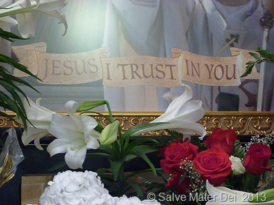 Jesus, I Trust In You! © SalveMaterDei.com, 2013