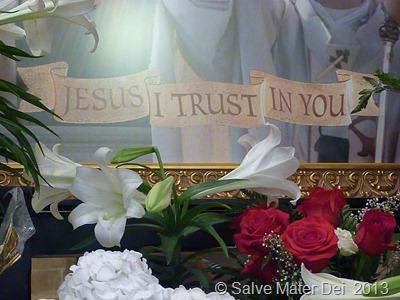 Jesus, I Trust In You! © SalveMaterDei.com, 2013