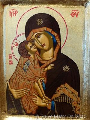Most Holy Theotokos, Pray for Us! © SalveMaterDei.com, 2013.