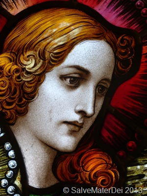 St. Catherine of Alexandria, Great-Martyr and Virgin, Please Pray for Us © SalveMaterDei.com, 2013
