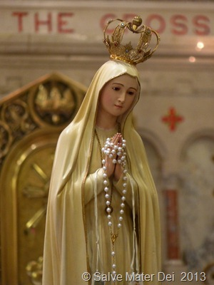 Hail Mary, Full of Grace! © SalveMaterDei.com, 2013.